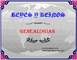 Genealog�a, Reyes y Reinos, Estudio sobre genealog�as din�sticas